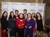 Honorees Yang & Romero with families